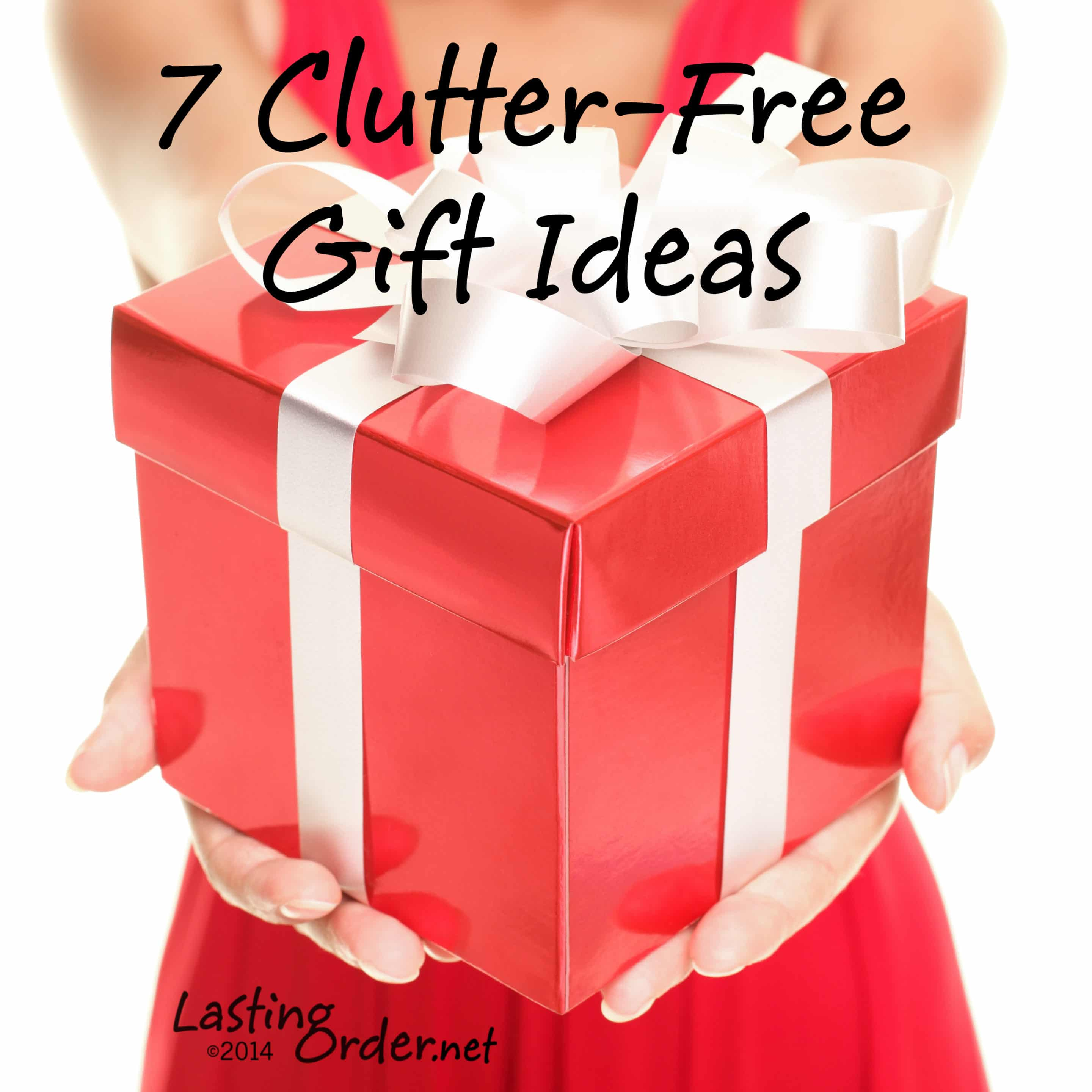 7 Clutter-Free Gift Ideas {Lifestyles Visit November 2014}