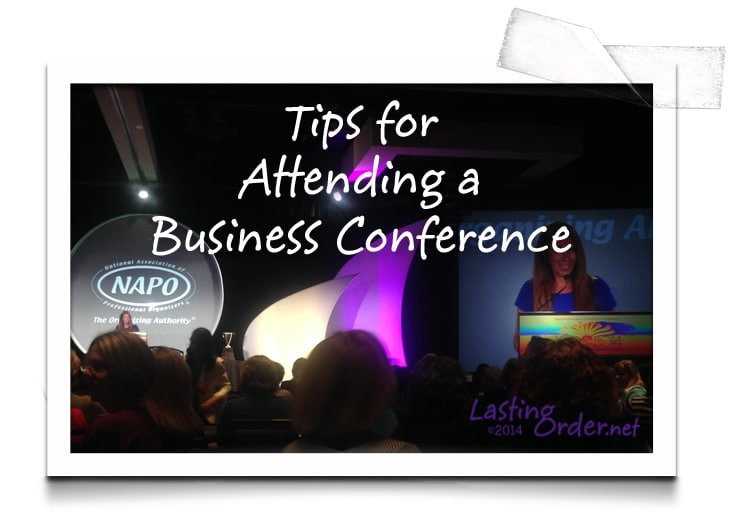 Tips for Attending a Business Conference