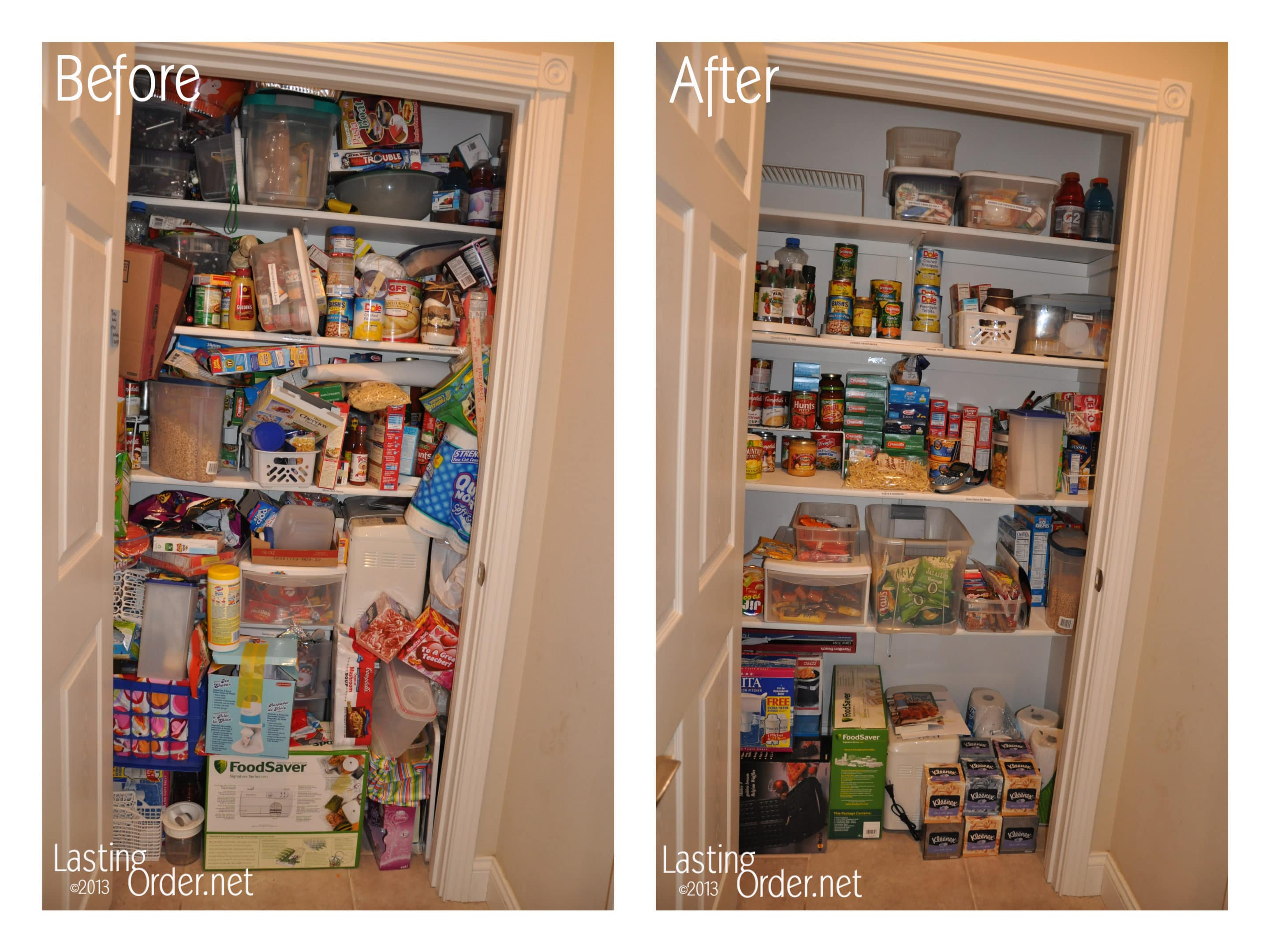 A Pantry BeforeAfter