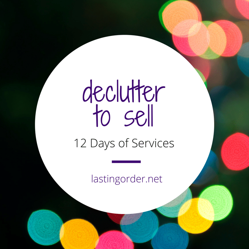 12 Days of Services – Day 11: Declutter to Sell Moving Service