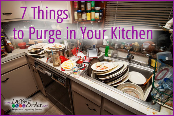 7 Things to Purge in Your Kitchen